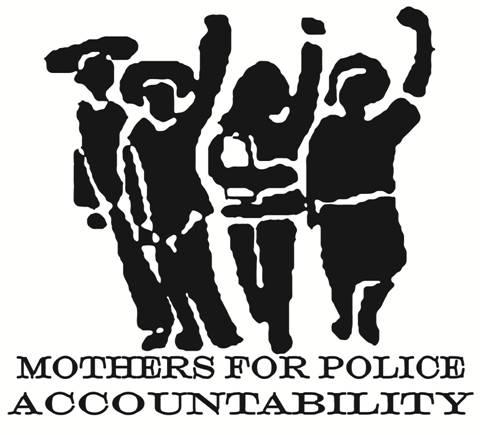 [התמונה היא כרזת מחאה, שהוכנה על ידי מה שמכונה: 'אימהות למען אחריותיות משטרתית'; והופצה ברשתות החברתיות. אנו מאמינים שאנו עושים בכרזה שימוש הוגן]