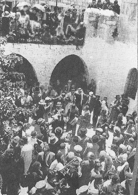 הילולת רבי שמעון בשנות העשרים