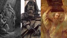 משה, ישעיהו, ירמיהו