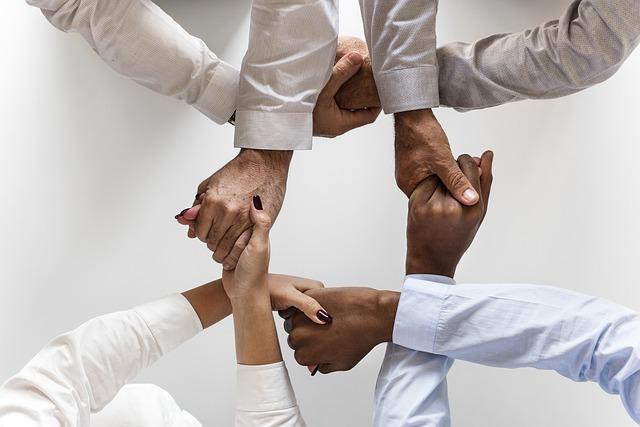 [בתמונה: שיתוף פעולה... תמונה חופשית - CC0 Creative Commons - שעוצבה והועלתה על ידי rawpixel לאתר Pixabay]