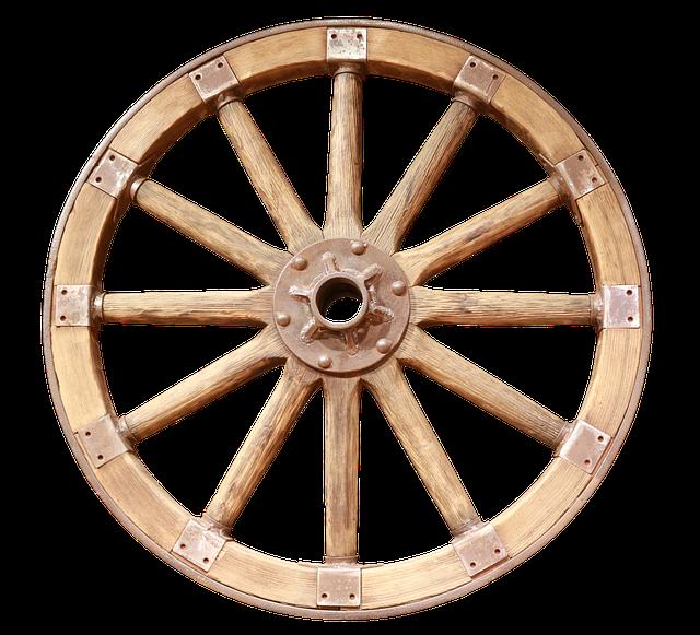 """[בתמונה: כשאין ידע """"ממציאים את הגלגל מחדש"""". ידע זה """"נולד"""" בשנית על-ידי אנשים אחרים. """"הגלגל מסתובב"""" וחוזר חלילה... תמונה חופשית - CC0 Creative Commons - שעוצבה והועלתה על ידי Momentmal לאתר Pixabay]"""