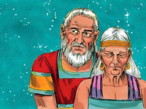 [בתמונה: אברהם ושרה... המקור: free bible images]
