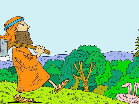 [בתמונה: נח מצא חן בעיני ה'... המקור: free bible images]